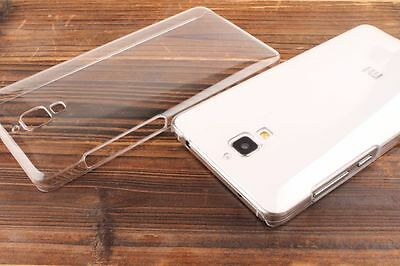 Clear Crystal Transparent Plastic PC Hard Back Case Cover Skin For Xiaomi mi4 M4