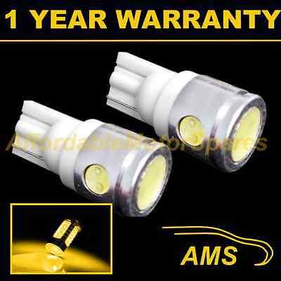 2x 501 LED SIDE INDICATOR BULBS AMBER XENON T10 W5W 194 HID WEDGE LAMP LIGHT
