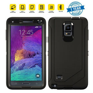 new product 30060 79b2d Details about For Samsung Galaxy Note 4 Case with Belt Clip Fits Otterbox  Defender Series