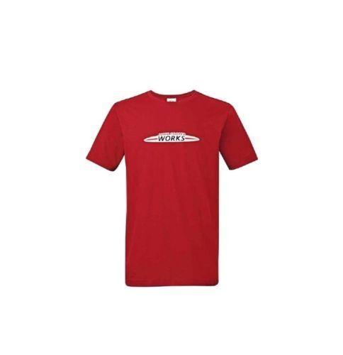 MINI John Cooper Works Herren T-Shirt JCW Shirt chili rot Größe M 80142454515