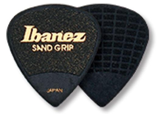 Grip Wizard Ibanez Sandgrip Plektren PA16XSG-BK 6er Pack 1,20 mm schwarz