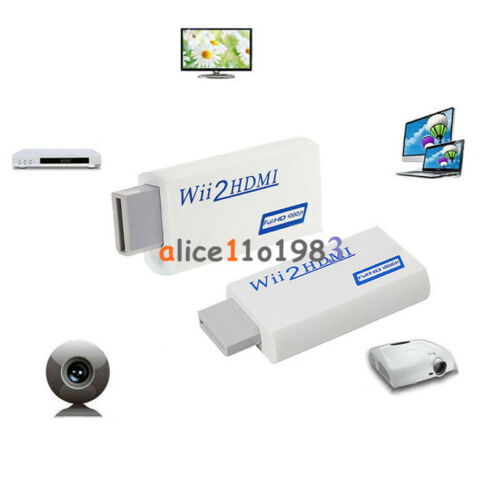 Wii2HDMI converter Adapter Wii to HDMI Audio HDMI 1080P 720P for NTSC 480i 480p