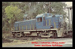 LMH Postcard ALGERS WINSLOW WESTERN Railway Alco RS-1 AW/&W #3 Freight Short Line