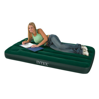 Intex Queen Size Downy Airbed with Built in Foot Pump 66929
