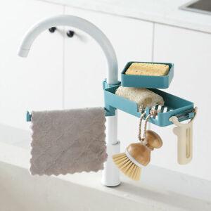 Rotatable-Faucet-Drain-Rack-Double-layer-Kitchen-Rag-Storage-Holder-Sink-Basket