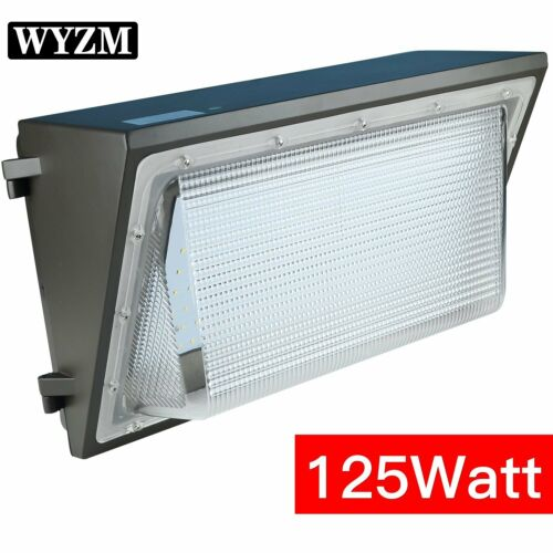 70|100|125W LED Wall Pack light,Dusk-to-dawn Photocell Available,IP65 Waterproof
