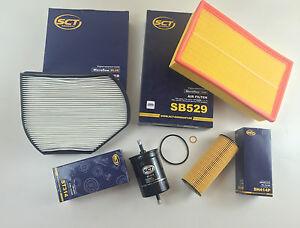 Filtro-aceite-filtro-de-polen-aire-kraftst-sct-Germany-w210-s210-200-compresor-186-PS