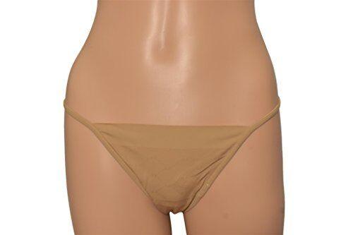 La Perla Women's Nude Signature Thong Panty 3 M