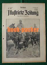BERLINER ILLUSTRIRTE ZEITUNG 1915 Nr. 50: Trommelfeuer/Durch serbischen Morast