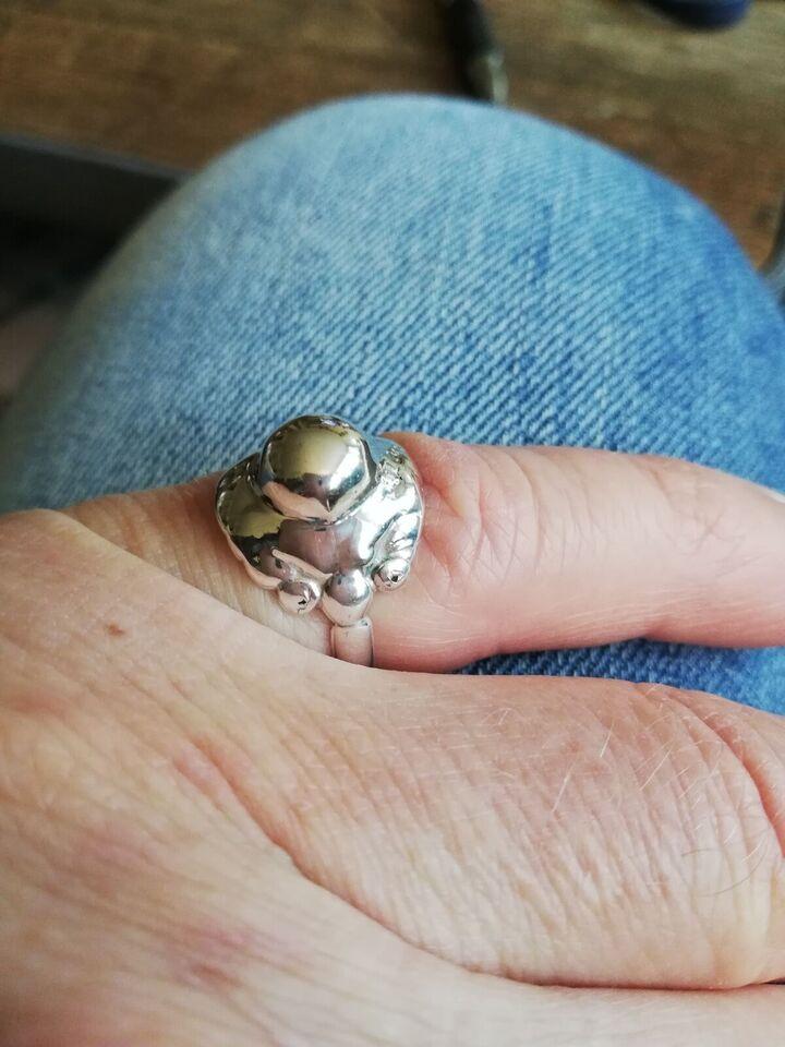 Fingerring, sølv, Georg Jensen