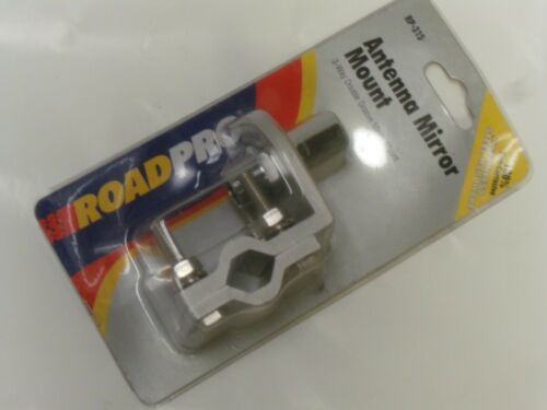 ROADPRO RP-315 3-Way Double Groove Antenna Mirror Mount NOS