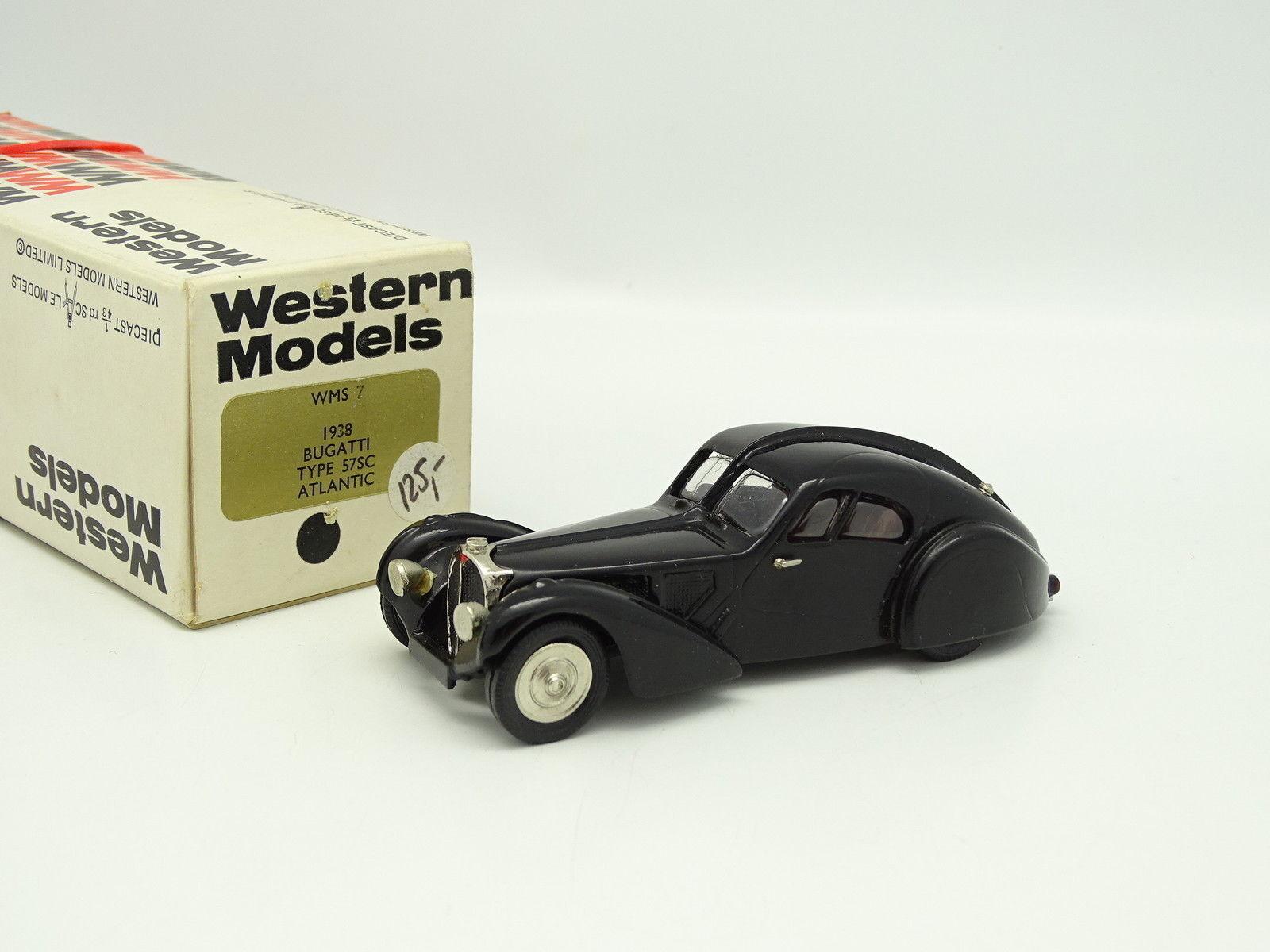 Western Models 1 43 - Bugatti 57SC Atlantic blacke 1938