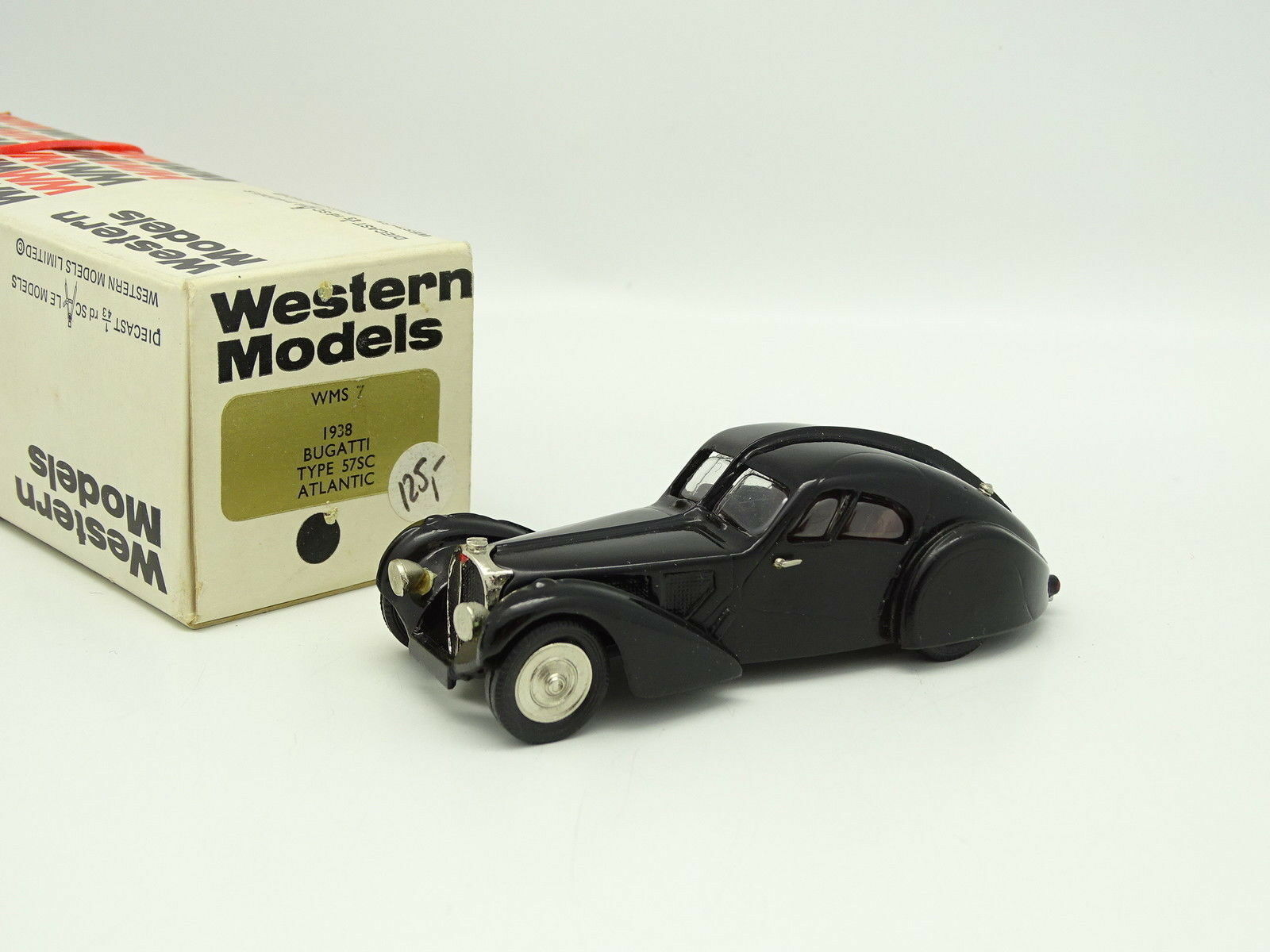 Western Models 1 43 - Bugatti 57SC Atlantic Noire 1938