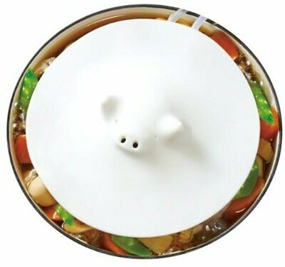 Drop Lid Silicone safe microwave dishwasher Marna White Piggy Steamer lid
