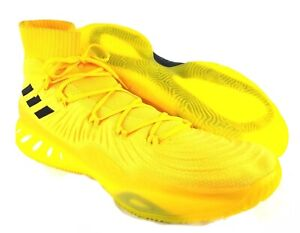 Details about Adidas Crazy Explosive 2017 PK Boost Primeknit Yellow Basketball Shoes Mens 20
