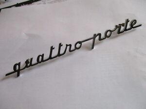 MASERATI-scritta-CHROME-inscription-215-mm-SIGNE-LOGO-S30-Panneau-Type