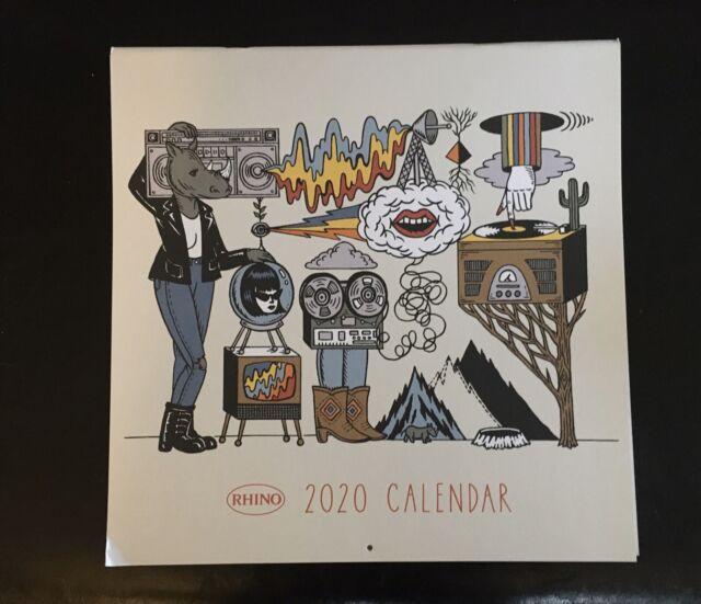 Van Halen Etc Doors Rhino Records 2020 Calendar Grateful Dead