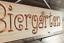 Indexbild 1 - Biergarten - Holz Dekoschild, massiv, gefräste Gravur, Geschenkidee, Bar, Garten