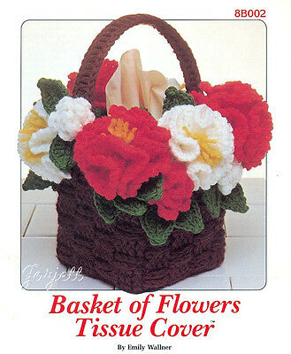 Basket of Flowers Tissue Cover, Annie's crochet pattern