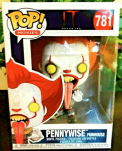 MINT-It-Chapter-2-Licking-Tongue-Funhouse-Pennywise-Clown-Funko-Pop-Figure-781
