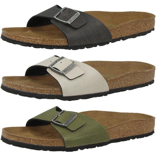 Birkenstock madrid Birko-flor zapatos señora sandalias Vegan sandalias zapatillas casa de casa zapatillas 45c906