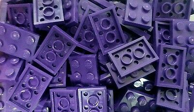 *NEW* Lego Purple 2x3 Stud Flat Brick Plates Modular House Floors 20 pieces