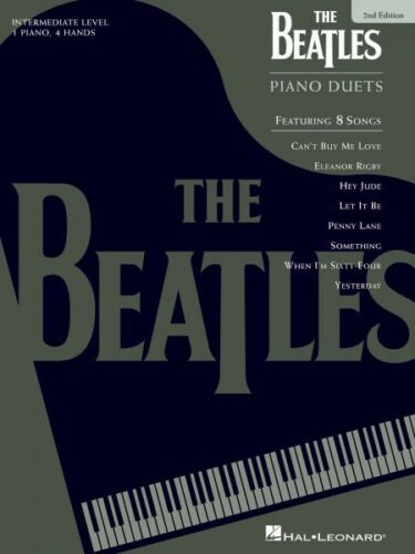 The Beatles Piano Duets 2nd Edition 1 Piano 4 Hands Piano Duet Book NE 000290496