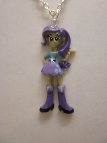 """My Little Pony Equestria Girls Pendant With 18/"""" Silver Plated Necklace"""