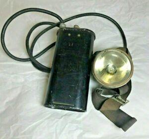WWII-Era-US-Navy-USN-Justright-No-32N-Headlamp-or-Flashlight-A010