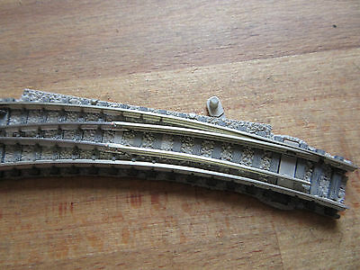 Fleischmann 9168 [Spur N] Bogenweiche links mit lt. Herzstück
