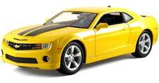 1:18 Maisto Yellow 2010 Chevrolet Camaro SS RS Item 31173 Like Bumblebee