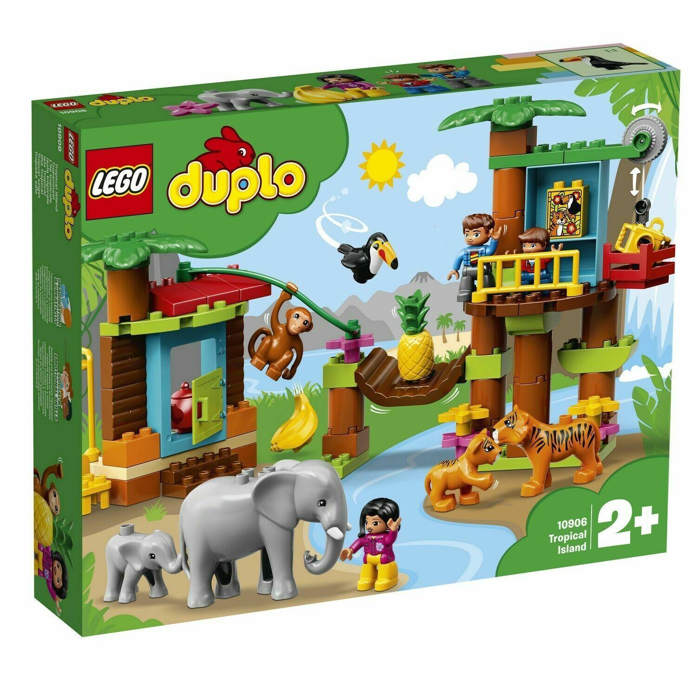 LEGO DUPLO TOWN 10906 ISOLA TROPICALE     NUOVO  miglior prezzo