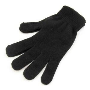 Herren Schwarz RJM Magische Handschuhe Einheitsgröße: GL311