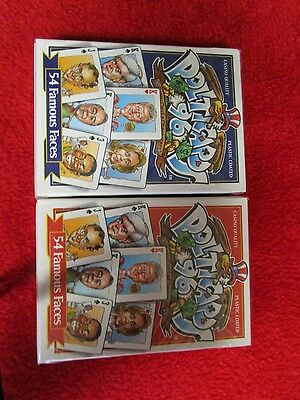 1996 Politicards '96' Election Playing Cards -Bill & Hillary Clinton 2 NEW decks