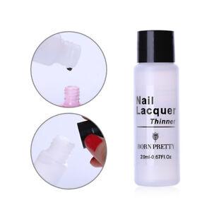 BORN-PRETTY-20ml-Nail-Art-Polish-Varnish-Thinner-Transparent-Nail-Tools