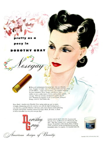 Reproduction. Wall art Dorothy Gray 2 : Vintage Women/'s makeup advert poster