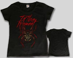 In this moment american metal band woman t shirt sizes for Xxl band t shirts