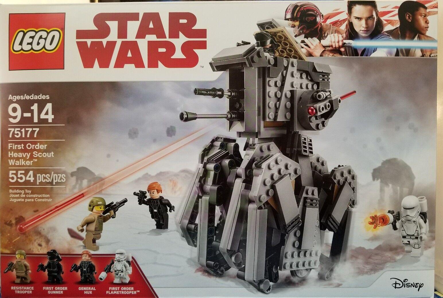 LEGO Star Wars First Order Heavy Scout Walker 2017 (75177)