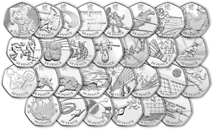 50p-London-Olympic-2012-all-29-coins-or-full-collection