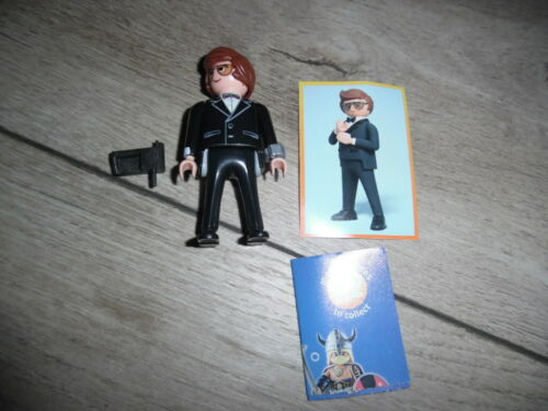 Rex Dasher als Agent Set 70069 Playmobil The Movie Serie 1