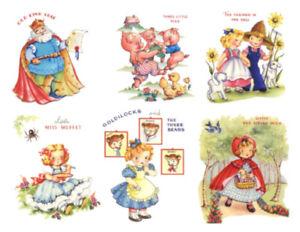 Shabby Ortment Six Nursery Rhymes