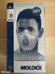 16 Masques - MOLDEX 2405 - Neufs dans boîte d'origine