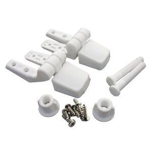 Image Is Loading Master Plumber 479 568 White Toilet Seat Hinge