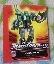 Transformers RID GRIMLOCK TECH SPEC ONLY