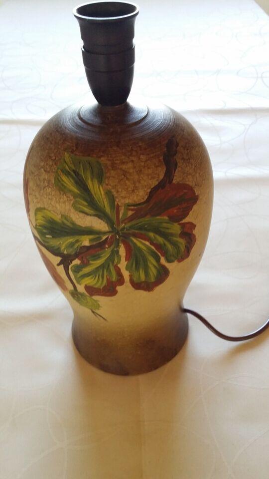 Anden bordlampe, Keramiklampe fra 1941
