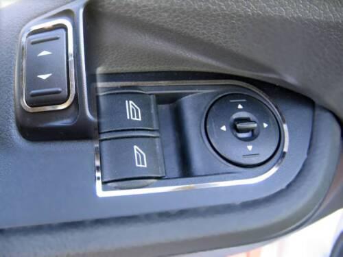 Edelstahl   Focus MK 2 D Ford Focus MK2 Chrom Rahmen für Schalter Fensterheber