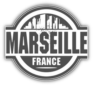 Marseille-City-France-Label-Car-Bumper-Sticker-Decal-3-039-039-or-5-039-039
