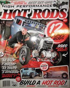 High-Performance-Hot-Rods-1-34-Chev-T-Bucket-33-Hemi-Coupe-3-Window-Model-T