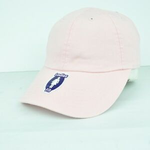 a23a60c6738 American Needle Light Pink Adjustable Open Back Hat Cap Curved Bill ...