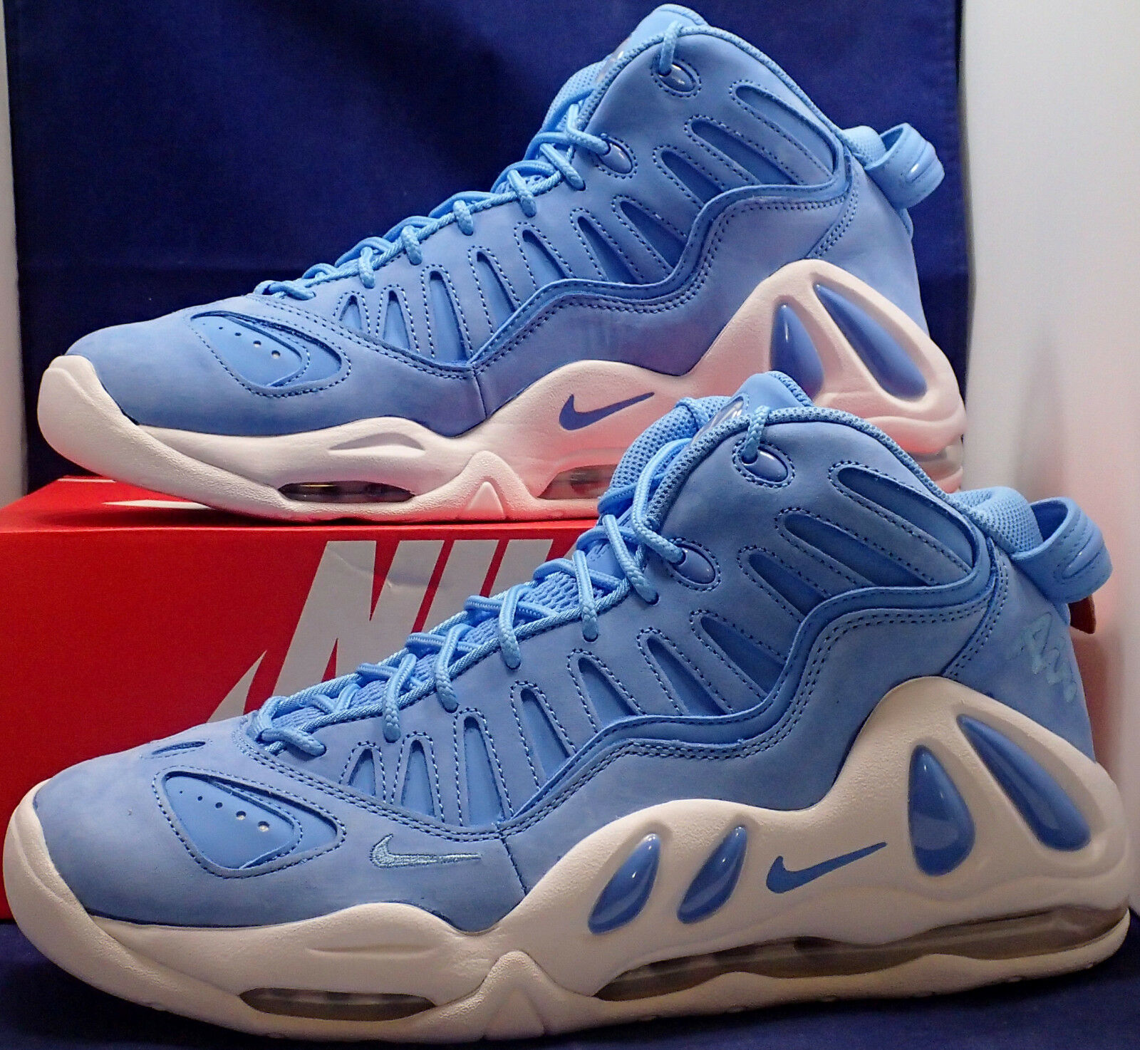 Nike Air Max Uptempo 97 AS QS University Blue UNC Pippen SZ 9.5 ( 922933-400 )